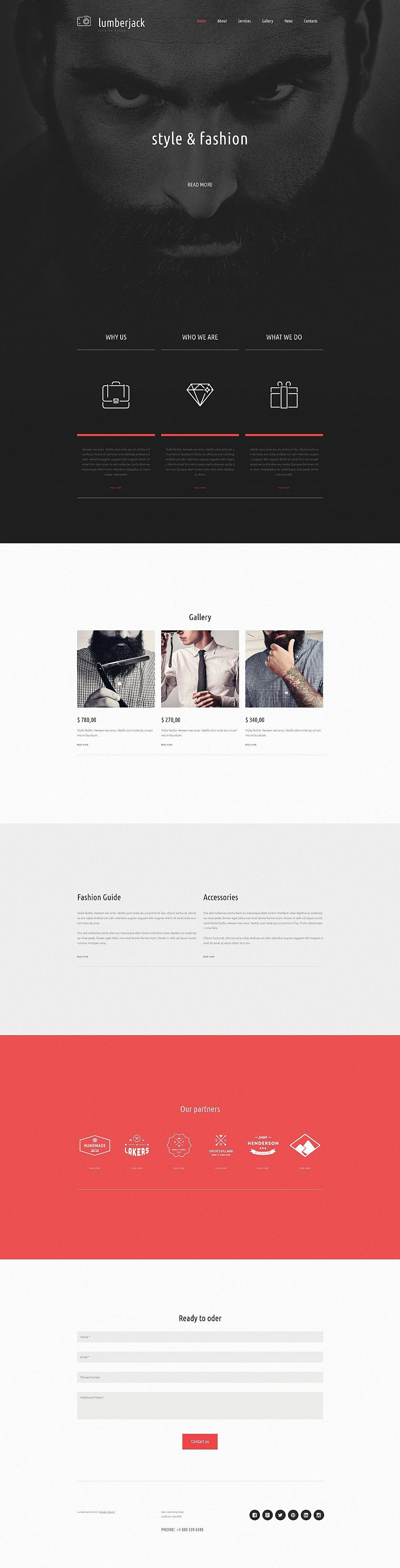 Online Fashion Brand Template - image