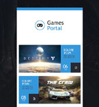 53340 Games Newsletter Templates