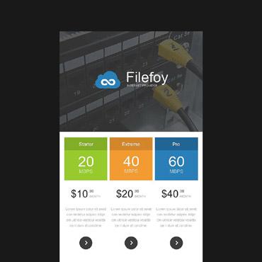 Купить  пофессиональные Email шаблоны. Купить шаблон #53466 и создать сайт.