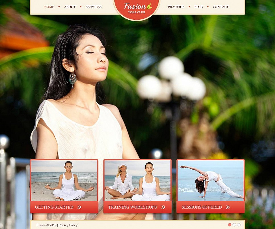 Complete Website Design for Yoga Club - image