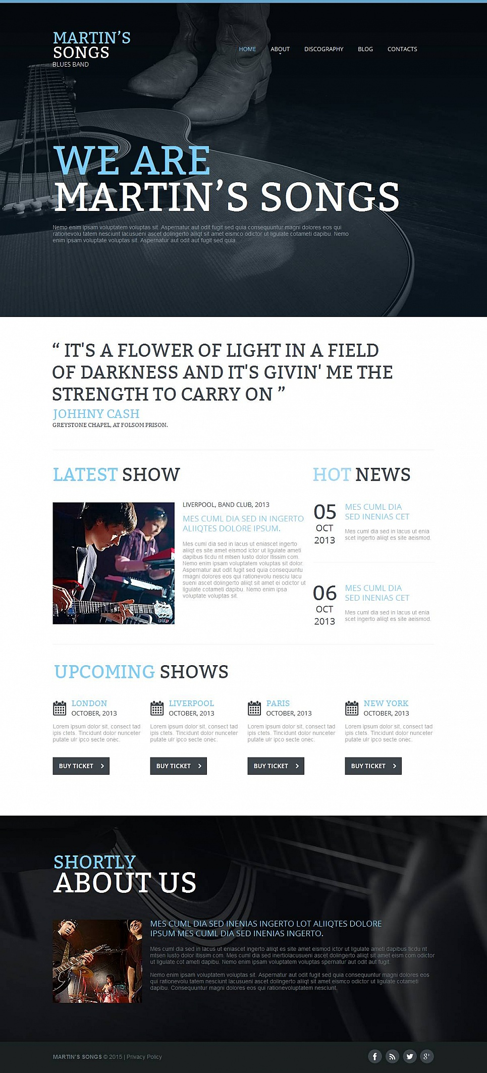 Band Website Creator - image