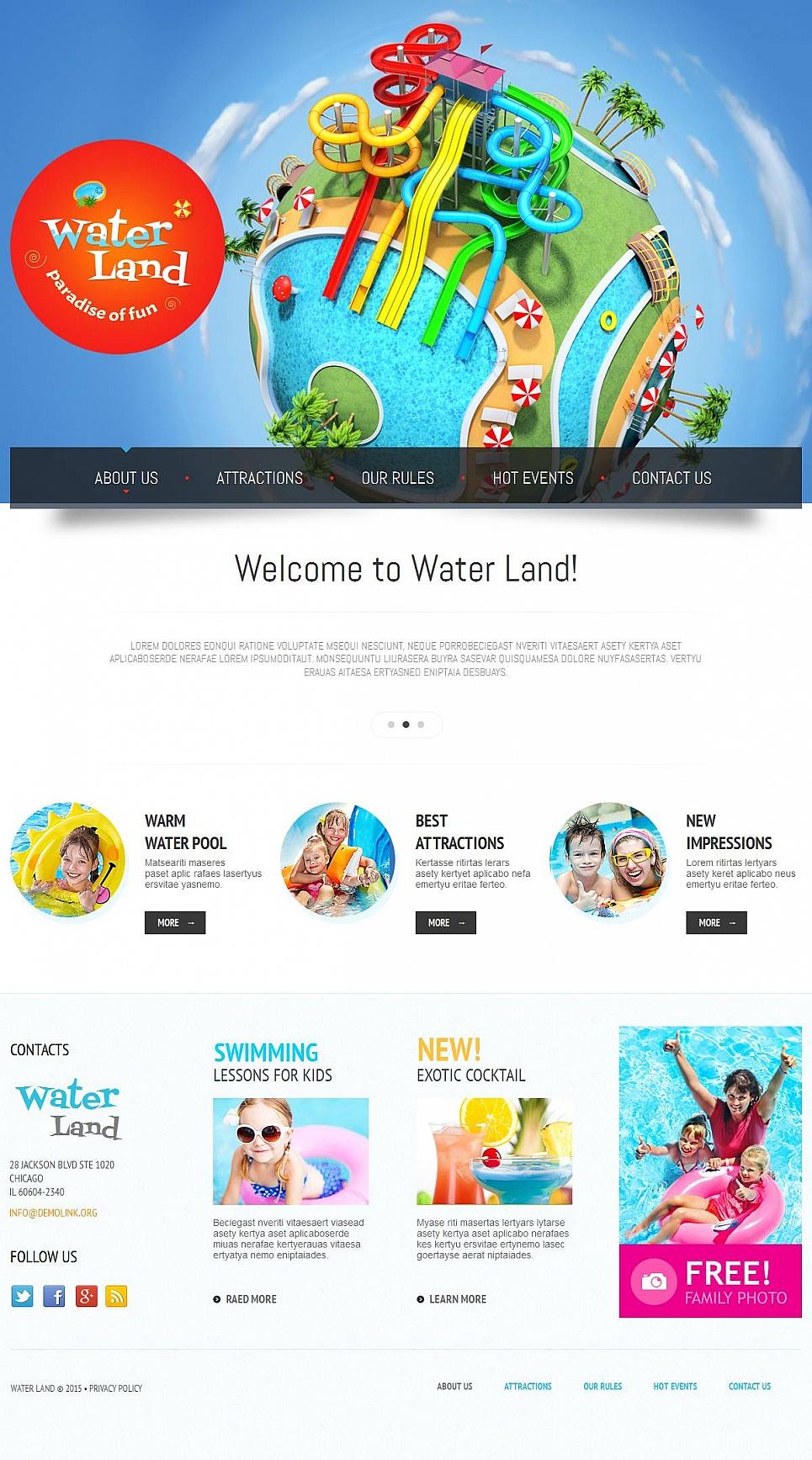 Adventure Water Park Theme - image