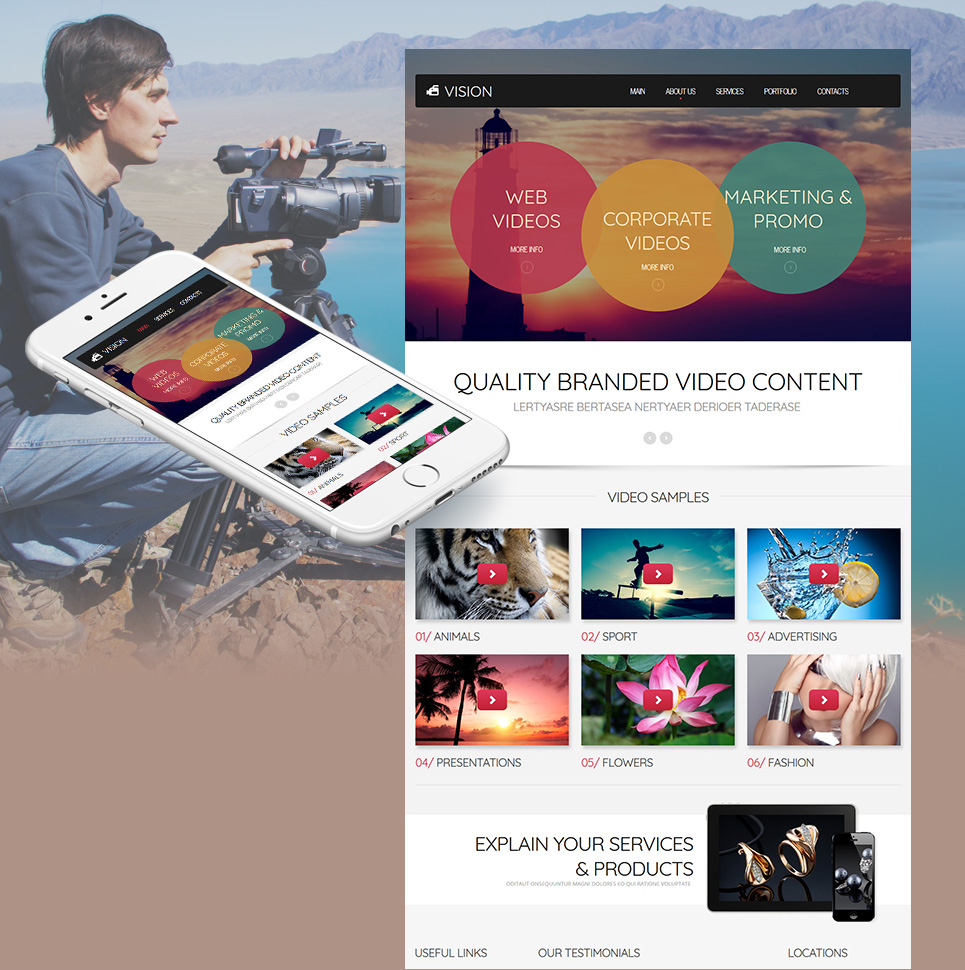 Complete Design for Video Production Website - image