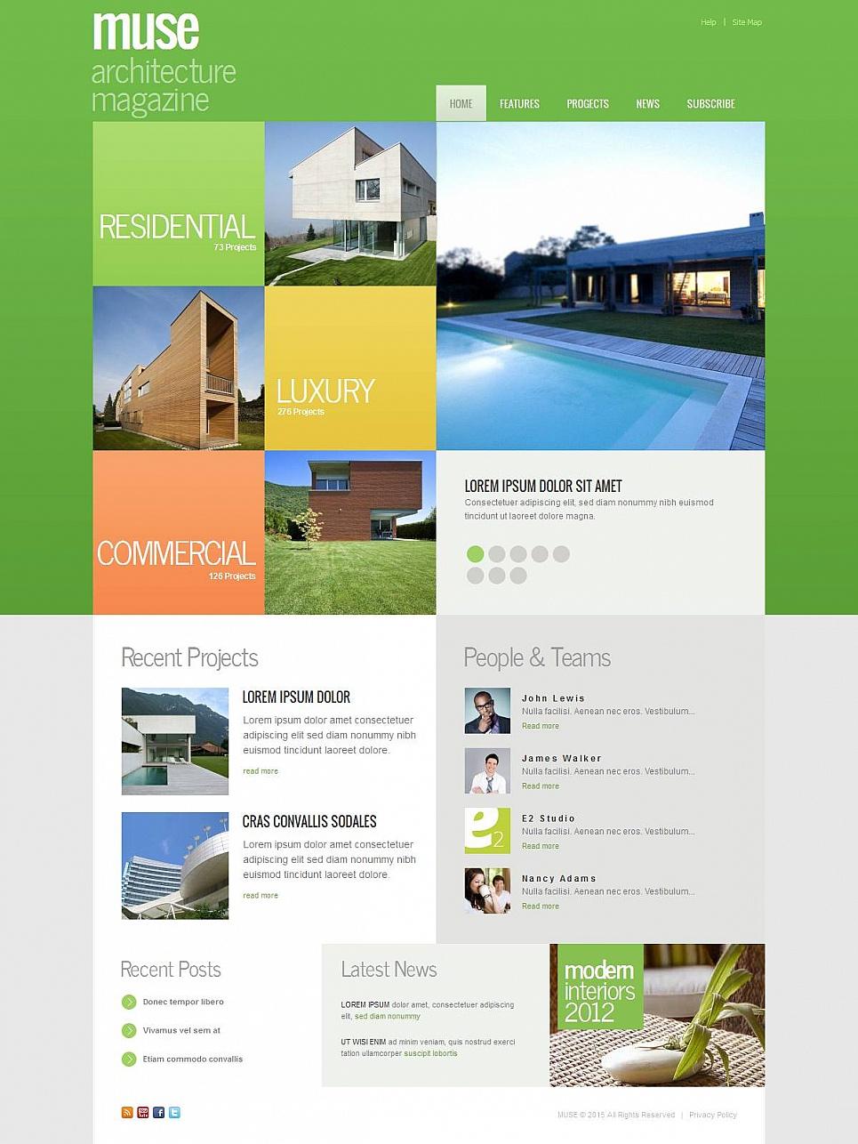 Szablon Strony Architektowej - image