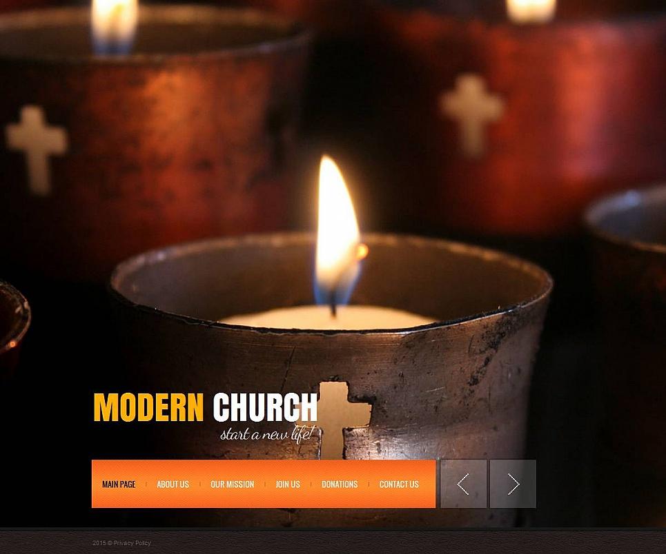 MotoCMS HTML Шаблон #53620 из категории Религия - image