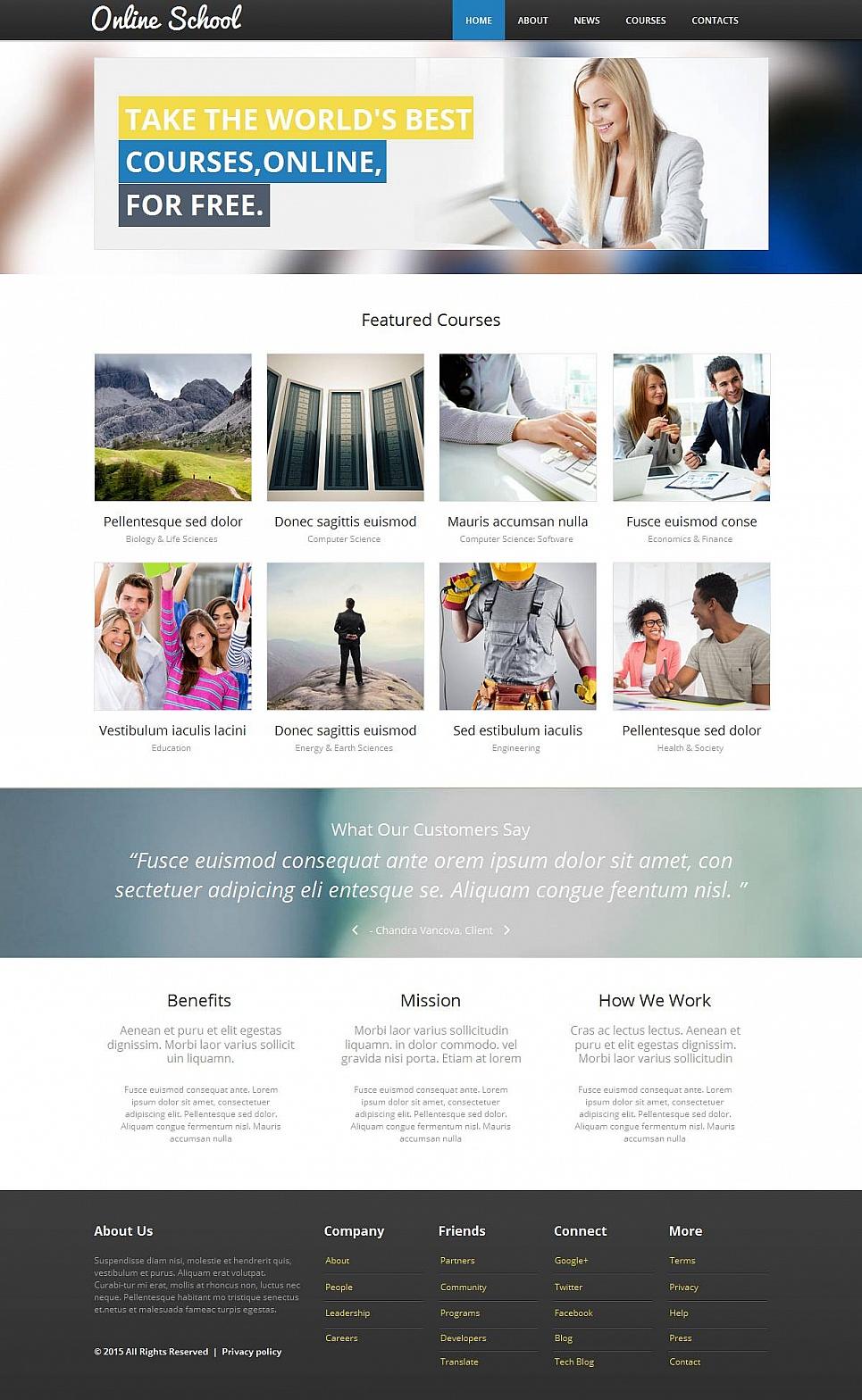 Online Courses Web Design - image