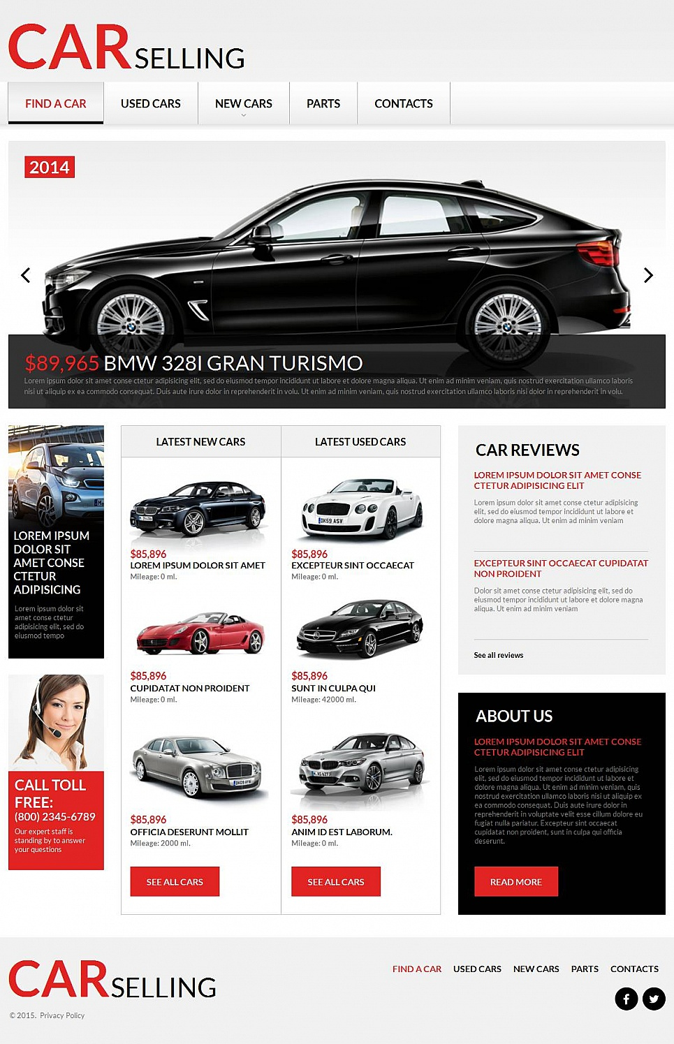 Car Selling Website Design - image