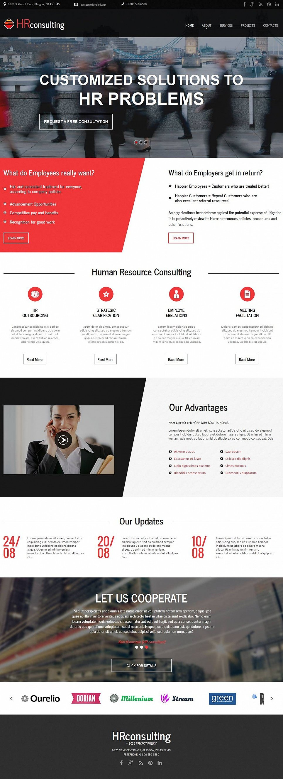 HR Consulting Website Design - image