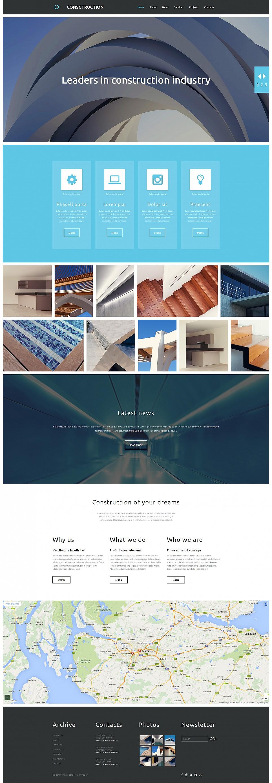 Сайт для архитектурной индустрии - image