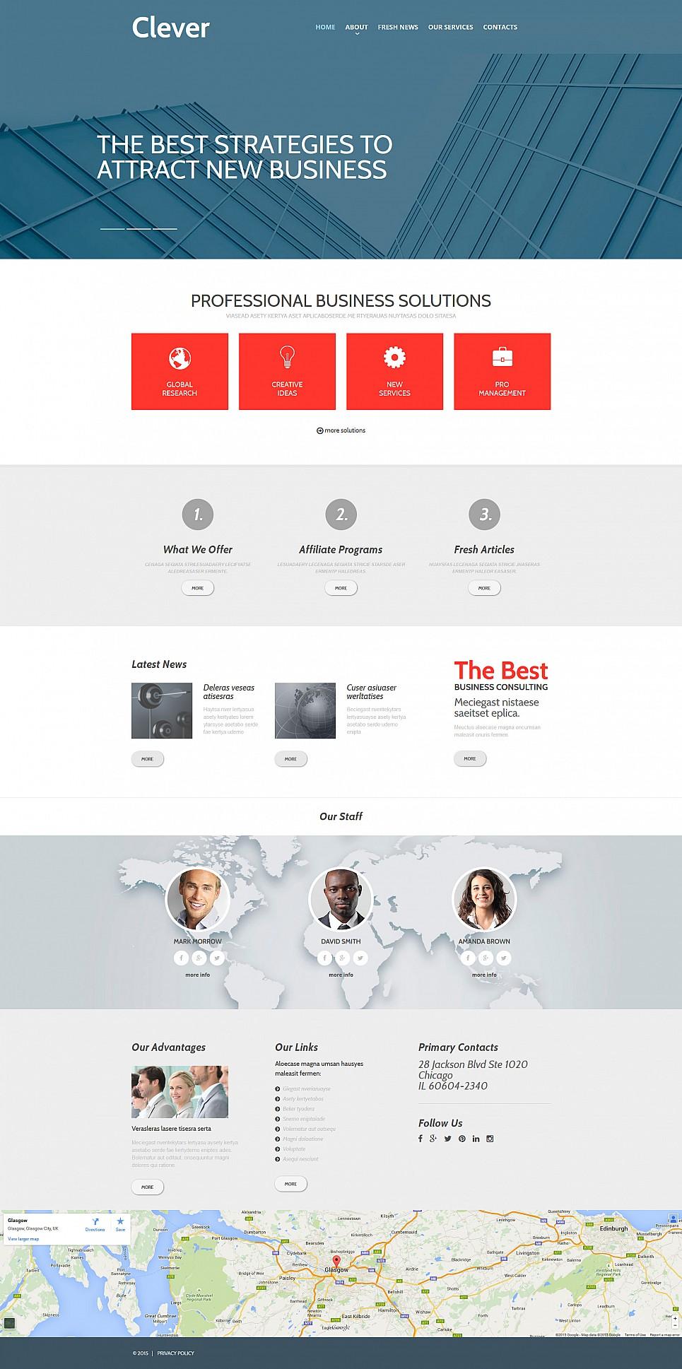 Business Web Page Design - image