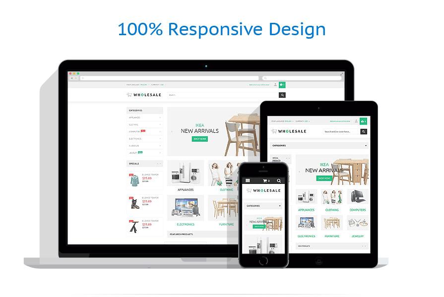 wholesale responsive magento theme themes templates