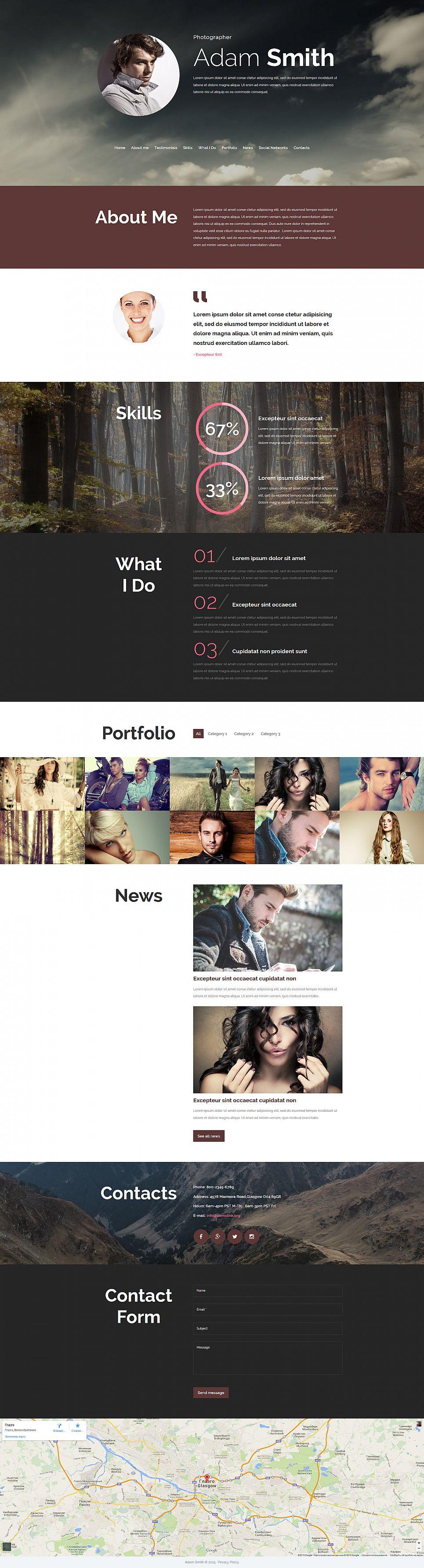 Online Photo Album Design - image