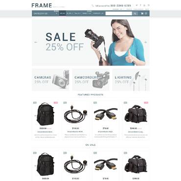 Купить  пофессиональные Shopify шаблоны. Купить шаблон #54005 и создать сайт.