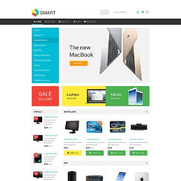 Купить  пофессиональные VirtueMart шаблоны. Купить шаблон #54009 и создать сайт.