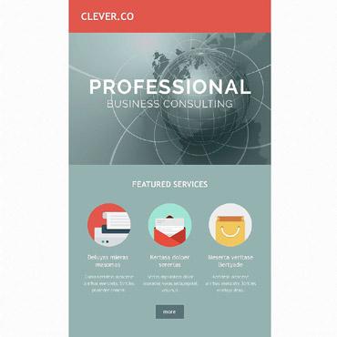 Купить  пофессиональные Email шаблоны. Купить шаблон #54031 и создать сайт.