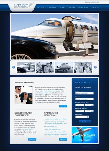 PSD макет сайта №54118