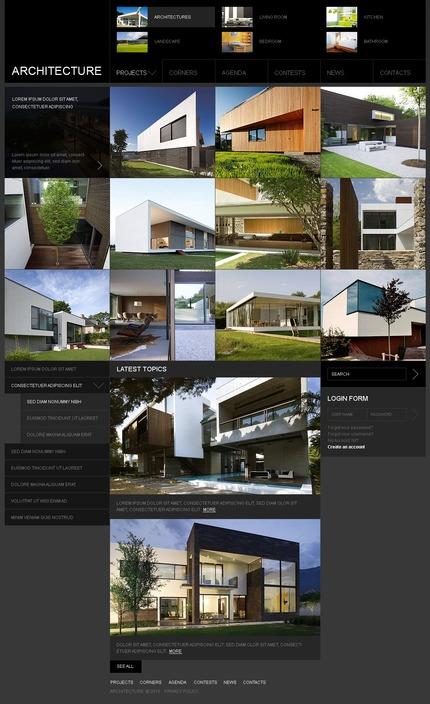 PSD макет сайта №54123