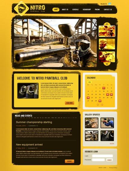 PSD макет сайта №54142