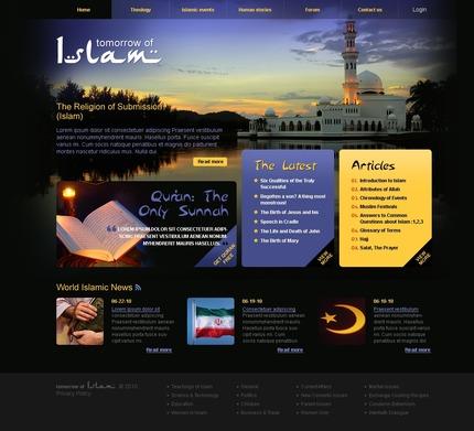 PSD макет сайта №54173