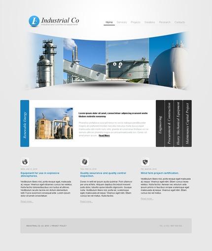 PSD макет сайта №54187