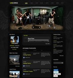 54214 Music, Full Site, CSS, Wide Templates, jQuery Templates, HTML 5 PSD Templates