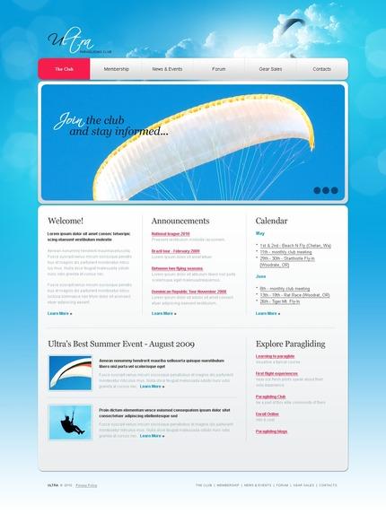 PSD макет сайта №54238