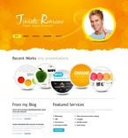 54255 Web Design, Full Site, Personal Pages, CSS, Wide Templates, jQuery Templates, HTML 5 PSD Templates