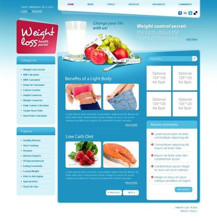 PSD макет сайта №54261