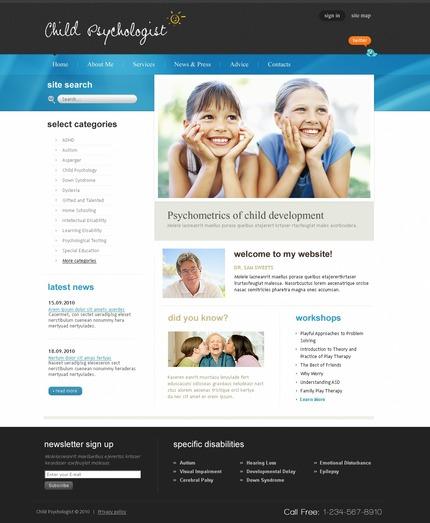 PSD макет сайта №54299