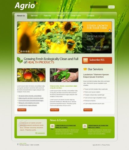 PSD макет сайта №54313