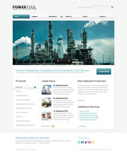 PSD макет сайта №54327