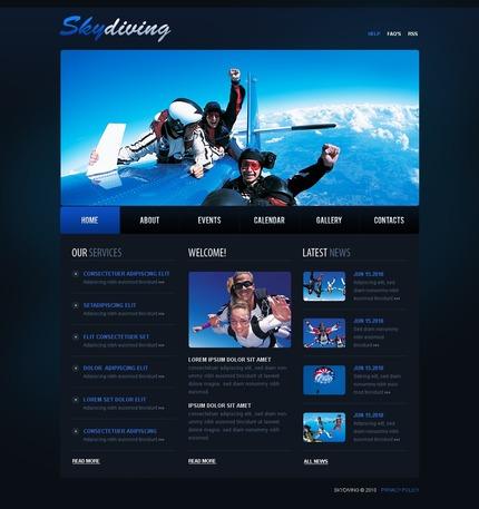 PSD макет сайта №54362