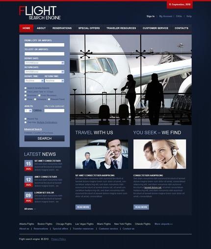 PSD макет сайта №54379