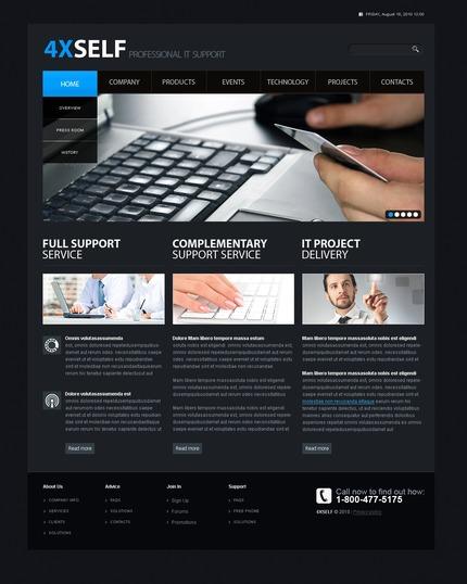 PSD макет сайта №54421