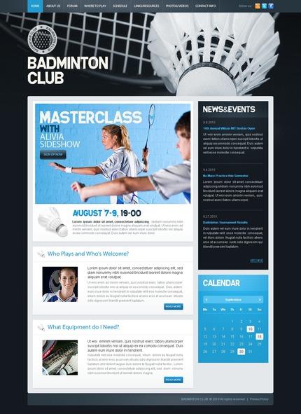 PSD макет сайта №54436