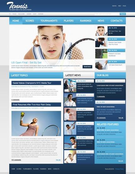 PSD макет сайта №54447