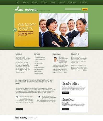 PSD макет сайта №54467