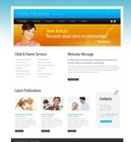 54480 Medical, Full Site, Personal Pages, CSS, Wide Templates, HTML 5 PSD Templates