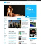54504 Media, CSS, Wide Templates, jQuery Templates, HTML 5 PSD Templates