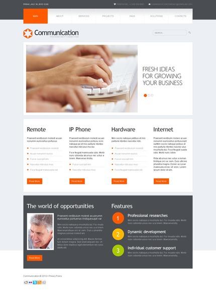 PSD макет сайта №54526