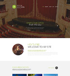 54565 Music Website Templates