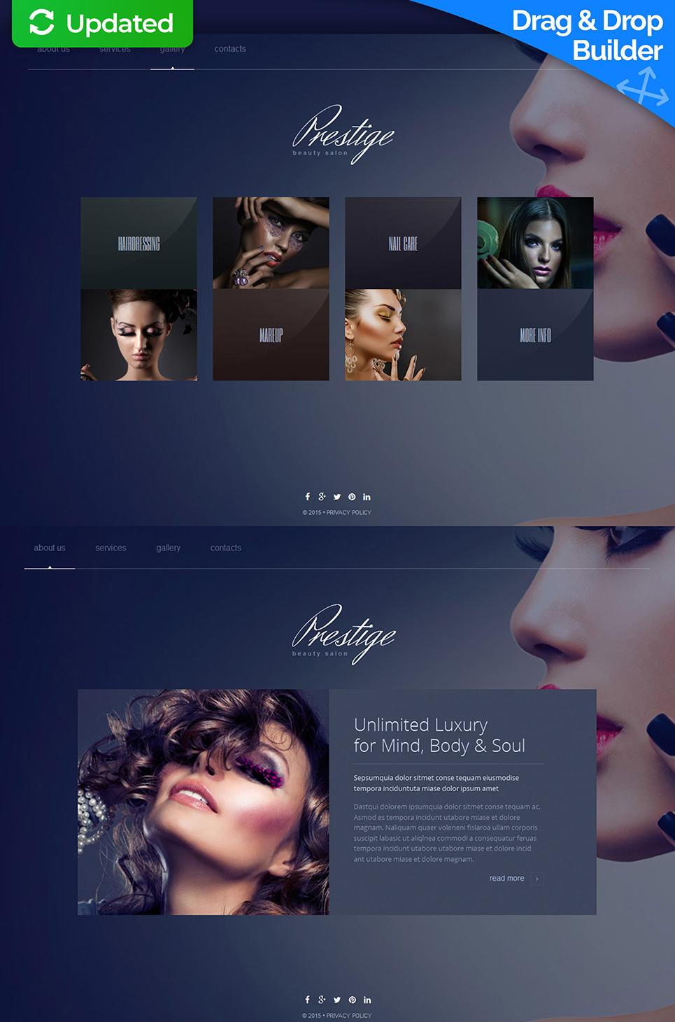 Сайт-визитка для салона красоты - image