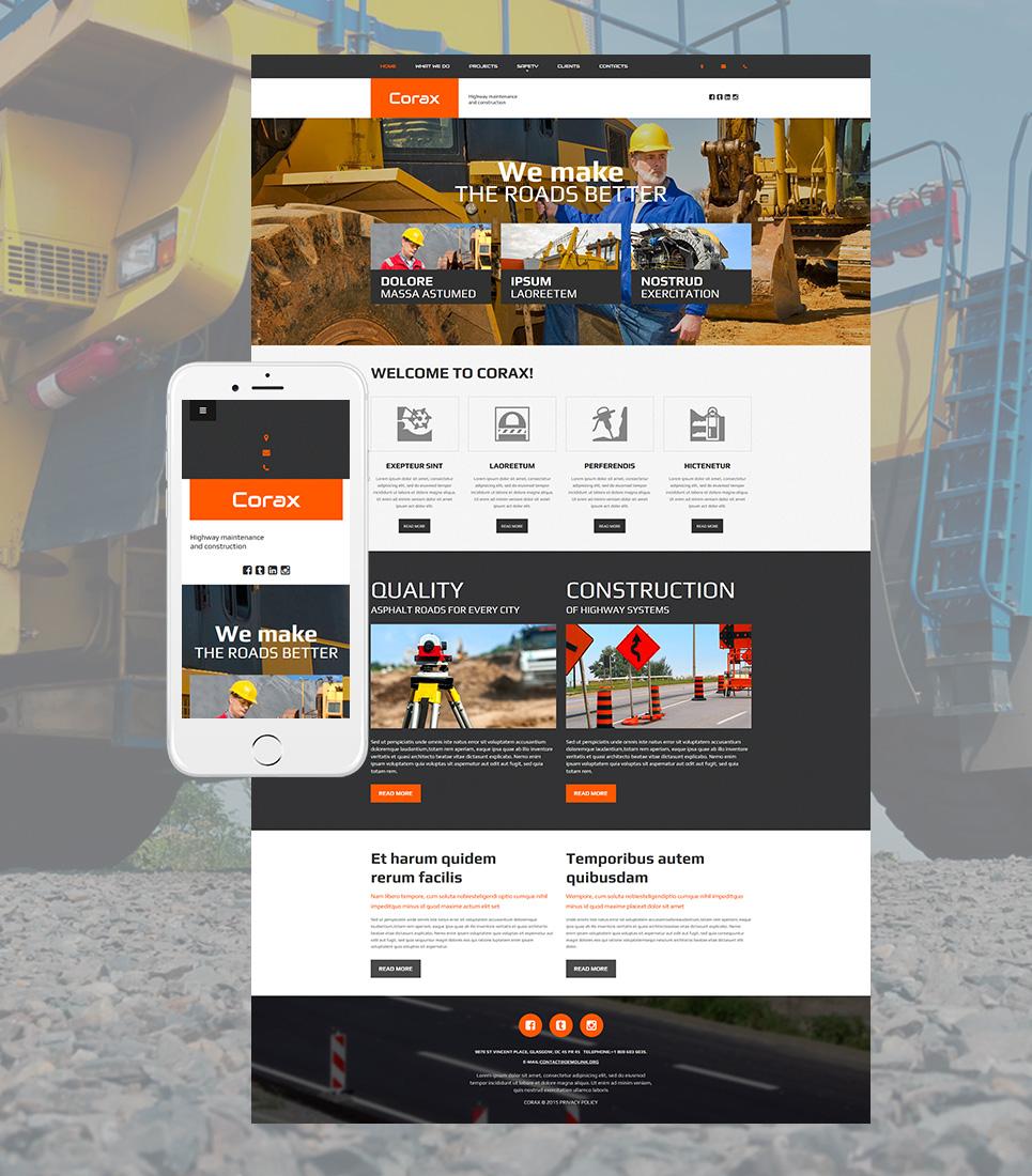 Plantilla del sitio web de SGC para soluciones de arquitectura - image