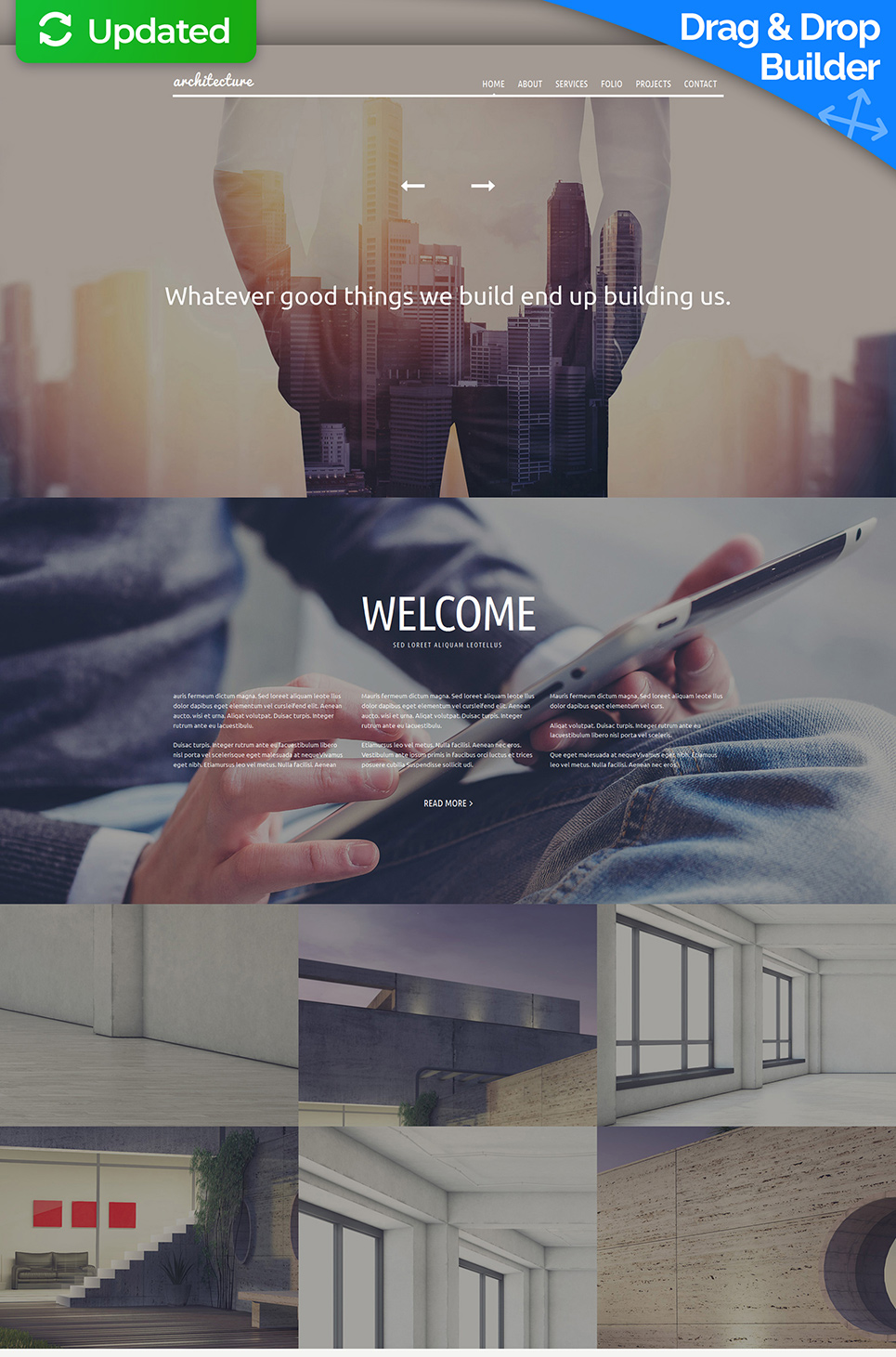 Architecture Firm Website Design - image