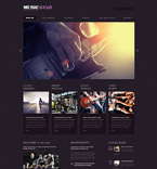 54646 Music WordPress Themes