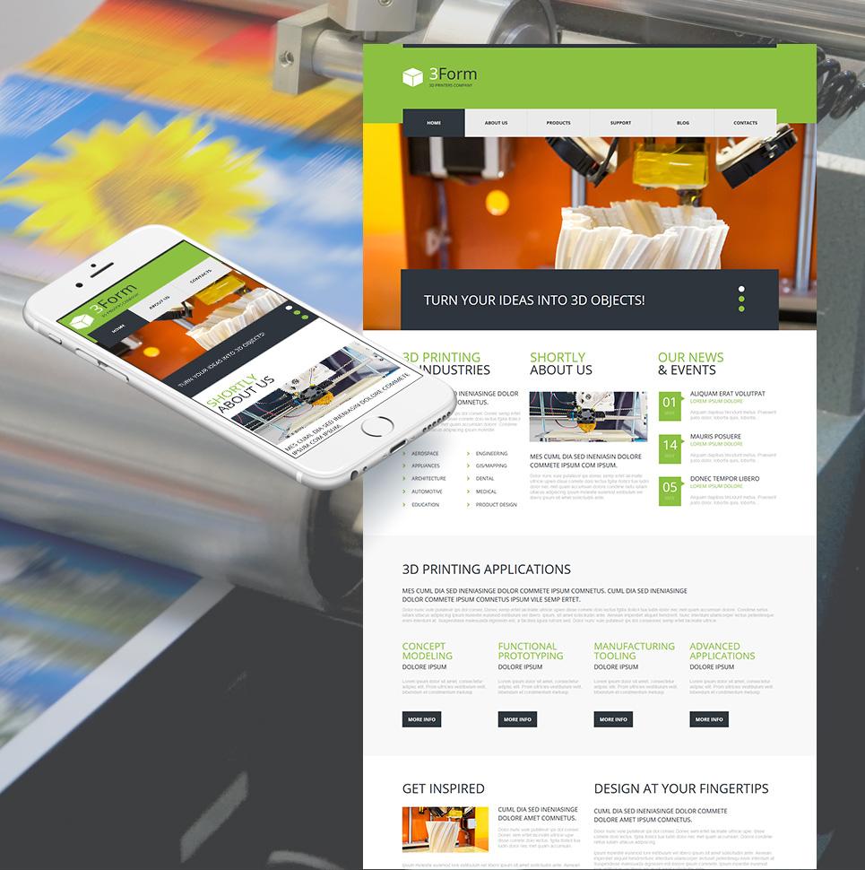 MotoCMS HTML Шаблон #54670 из категории Арт и фото - image