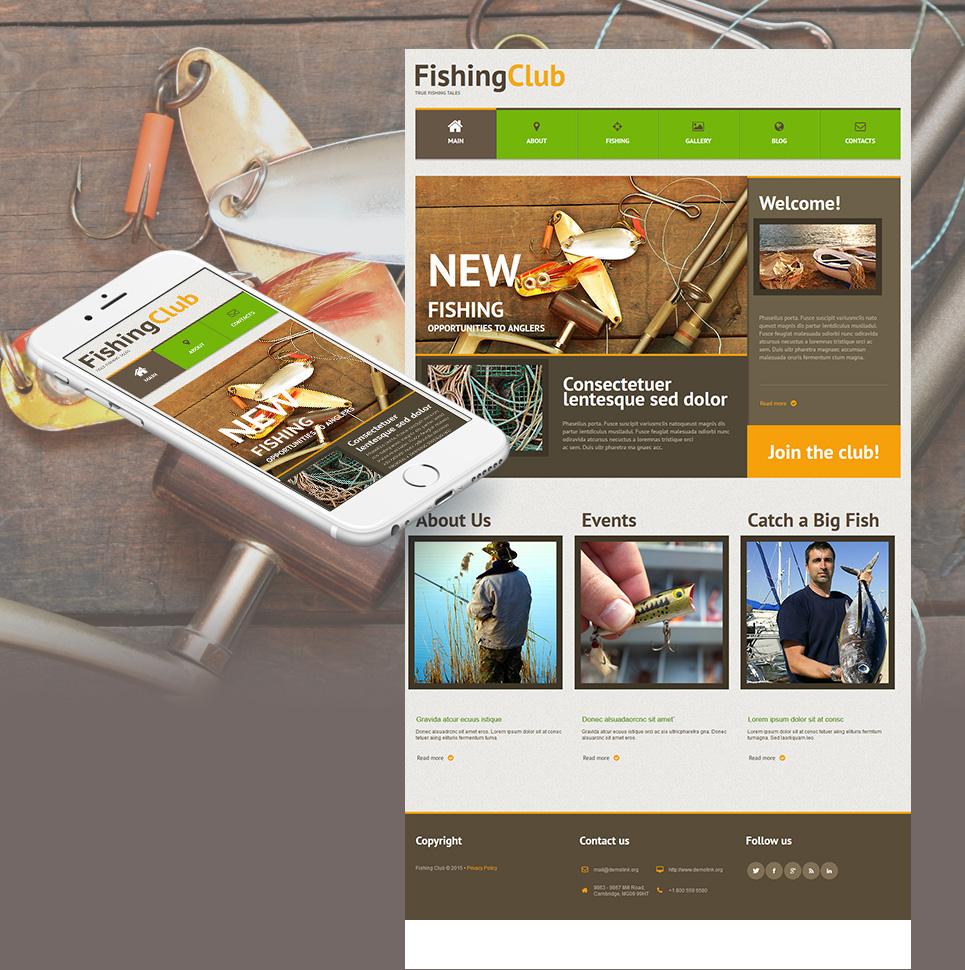Fishermen site template