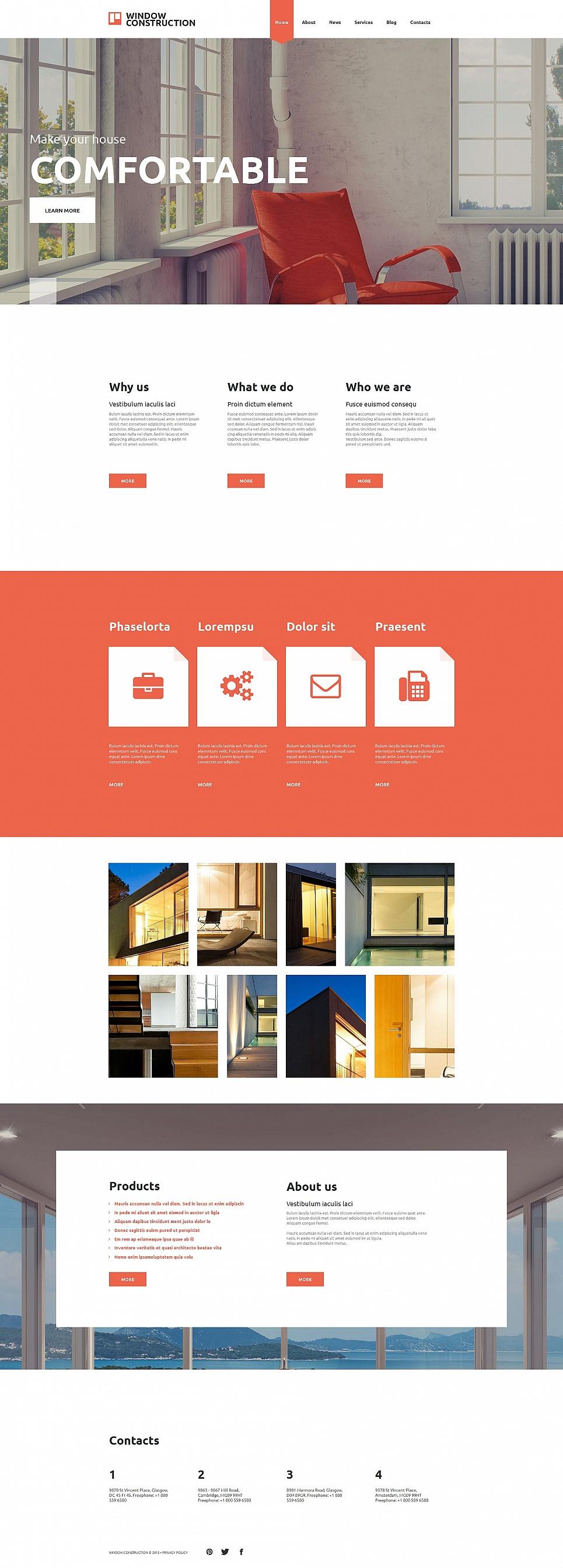 MotoCMS HTML Шаблон #54760 из категории Интерьер и мебель - image