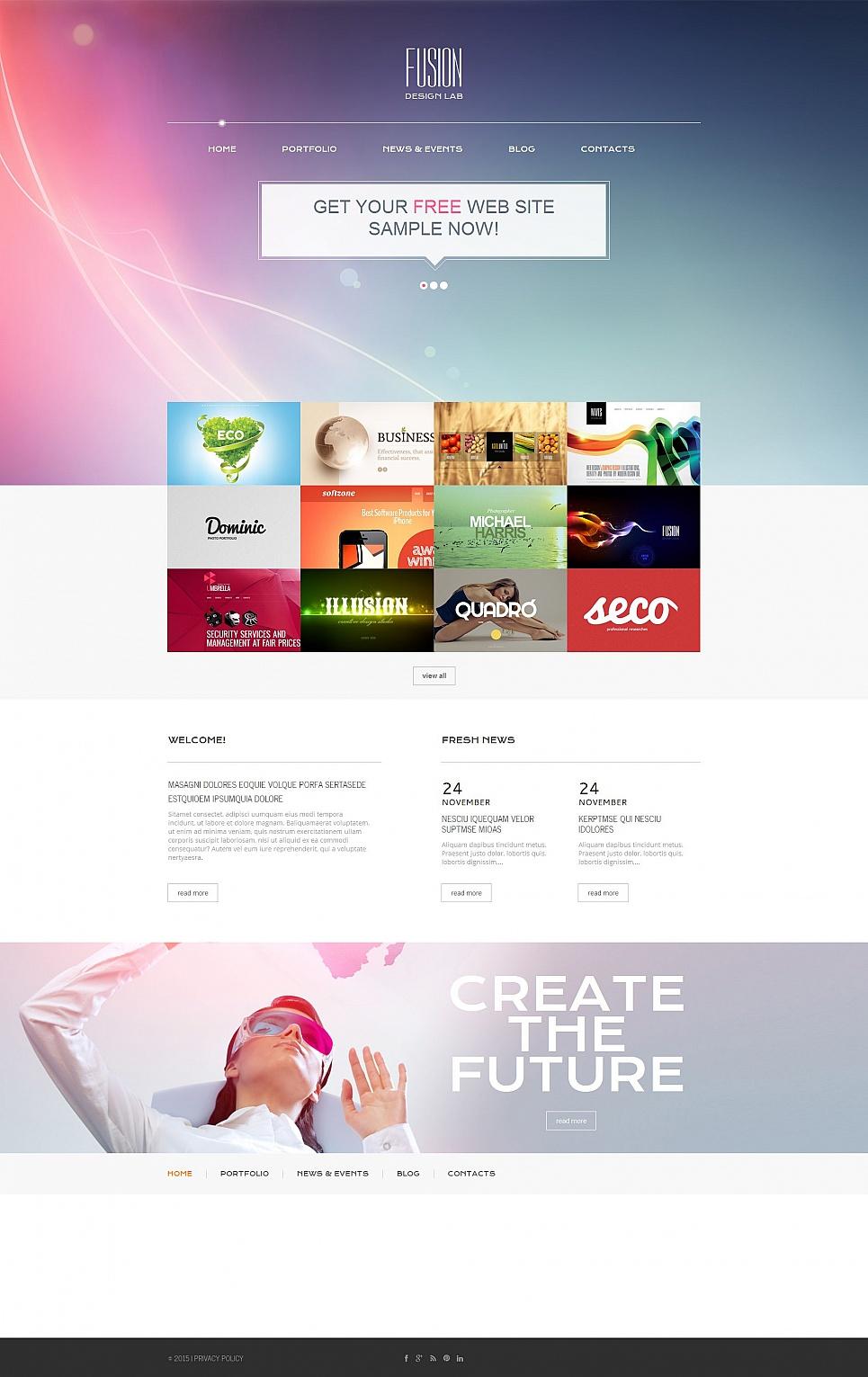 MotoCMS HTML Plantilla #54762 de categoría Diseño Web - image