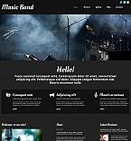 54765 Music Moto CMS HTML Templates